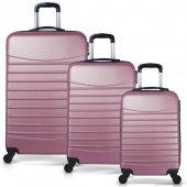 Bavyera ROYAL Abs 3 lü Valiz, Bavul Seti (Kabin+Orta+Büyük Boy) 5-5