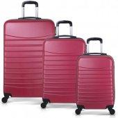 Bavyera ROYAL Abs 3 lü Valiz, Bavul Seti (Kabin+Orta+Büyük Boy) 5-6