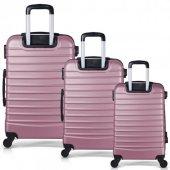 Bavyera ROYAL Abs 3 lü Valiz, Bavul Seti (Kabin+Orta+Büyük Boy) 5-7