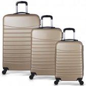 Bavyera ROYAL Abs 3 lü Valiz, Bavul Seti (Kabin+Orta+Büyük Boy) 5-8