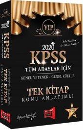 Yargı Yayınları 2020 Kpss Vıp Tüm Adaylar İçin Genel Yetenek Genel Kültür Konu Anlatımlı Tek Kitap