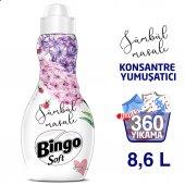 Bingo Soft Konsantre Çamaşır Yumuşatıcısı Sümbül Masalı 1440 Ml Ekonomi Paketi 6lı