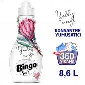 Bingo Soft Konsantre Çamaşır Yumuşatıcısı Yıldız Çiçeği 1440 Ml Ekonomi Paketi 6lı