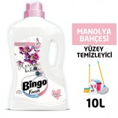 Bingo Fresh Yüzey Temizleyici 2,5 lt Manolya Ekonomi Paketi 4lü