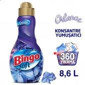 Bingo Soft Konsantre Çamaşır Yumuşatıcısı Ortanca 1440 Ml Ekonomi Paketi 6lı