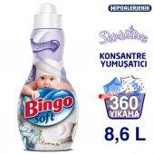 Bingo Soft Konsantre Çamaşır Yumuşatıcısı Sensitive 1440 Ml Ekonomi Paketi 6lı