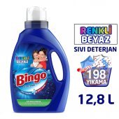 Bingo Renkli & Beyaz Sıvı Performans Ekonomi Paket 6lı