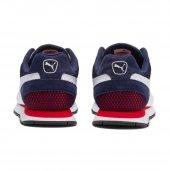 Puma Vista Jr Lacivert Beyaz Sneaker ayakkabı-4