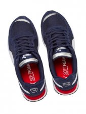 Puma Vista Jr Lacivert Beyaz Sneaker ayakkabı-5