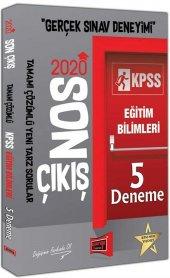 Yargı Yayınları 2020 Kpss Eğitim Bilimleri Son...