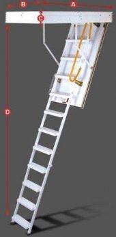 60x120 Minka Metal Çatı Merdiveni