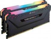 Corsair Vengeance RGB PRO 16GB(2x8GB) 3000Mhz DDR4 CMW16GX4M2C3000C15 Bellek Siyah-2