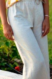 Krem Yazlık Pantolon