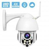 ıp Güvenlik Kamerası Gece Görüşlü Dış Mekan Ptz 1080p Speed Dome