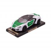 Canem 3338 Sürtmeli Araba Beyaz Yeşil