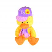 Kayyum Mor Şapkalı Pelüş Ördek Tk1616 70