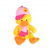 Kayyum Pembe Şapkalı Pelüş Ördek Tk1616 70