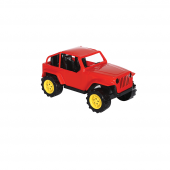 Tombul Jeep 43 Cm Kırmızı