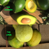 7 Kg Limon & 1 Kg Avakado Dalından Taze