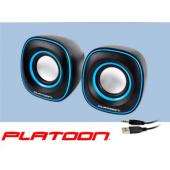 PLATOON PL-4014 USB 2.0 PC HOPARLÖR 1+1