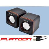 PLATOON PL-4008 USB 2.0 PC SPEAKER 1+1