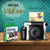 Fujifilm instax Wide 300 İnstant Fotoğraf Makinesi - 20 Li Film