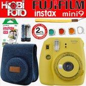 Fujifilm İnstax Mini 9 Ekonomik Kit (Sarı)...
