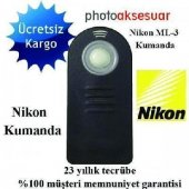 Nikon D80 İçin Ml L3 Mll3 Uzaktan Kumanda