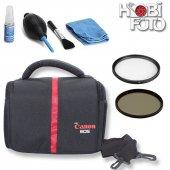 Canon Eos 650d 18 55 Full Aksesuar Seti...