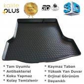 Skoda Super B 2014 Sonrası 3D Bagaj Havuzu KalitePlus-2
