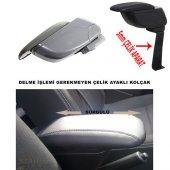 Fiat Linea 2013 Model Kolçak Kol Dayama Delme Yok KalitePlus Gri
