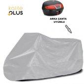 Java Cz 350  Arka Çanta Uyumlu Motosiklet Örtü Branda KalitePlus -3