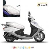 Bisan Yeni Troy 100 Motosiklet Örtü Branda KalitePlus -3