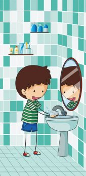 Wc, Lavabo, Tuvalet Kapı Giydirme 107