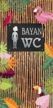 Bayan Wc, Lavabo, Tuvalet Kapı Giydirme 128