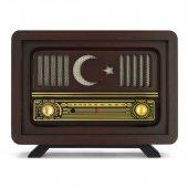 Nostaljik Radyo Ay Yıldız Model