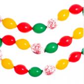 çiftlik Renkelr Çelenk Balon