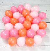 Flamingo Renkler Mini Balon Paketi