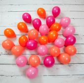 Flamingo Pembe Renkler Mini Balon Paketi