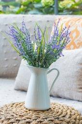 2li Mor Narkissos Yapay Çiçek