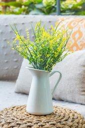 2li Sarı Narkissos Yapay Çiçek