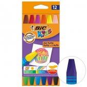 Bic Kids Yağlı Pastel Boya Kalemi 12li Paket