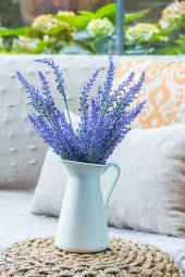 2li Mor Lavanta Provence Yapay Çiçek