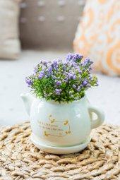 Tea Time Mor Yapay Şimşir