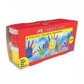 Faber Castell Parmak Boyası 6 Renk X 45 Ml
