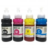 Epson L455, L486, L550, L565 Uyumlu 4 Renk...