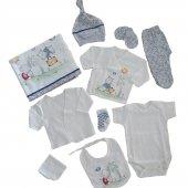 Kız-Erkek Bebek 10 Parça Hastane Çıkış Seti - C72537-2