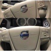 Volvo S60 S80 V40 Xc60 Xc70 V70 V60 Direksiyon Amblemi Logosu