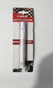 Lastik Yazı Kalemi Beyaz Yk001 (Carspeed)