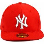 Yeni Sezon Moda Ny Cap Hiphop Kırmızı Şapka Yazlık Kışlık